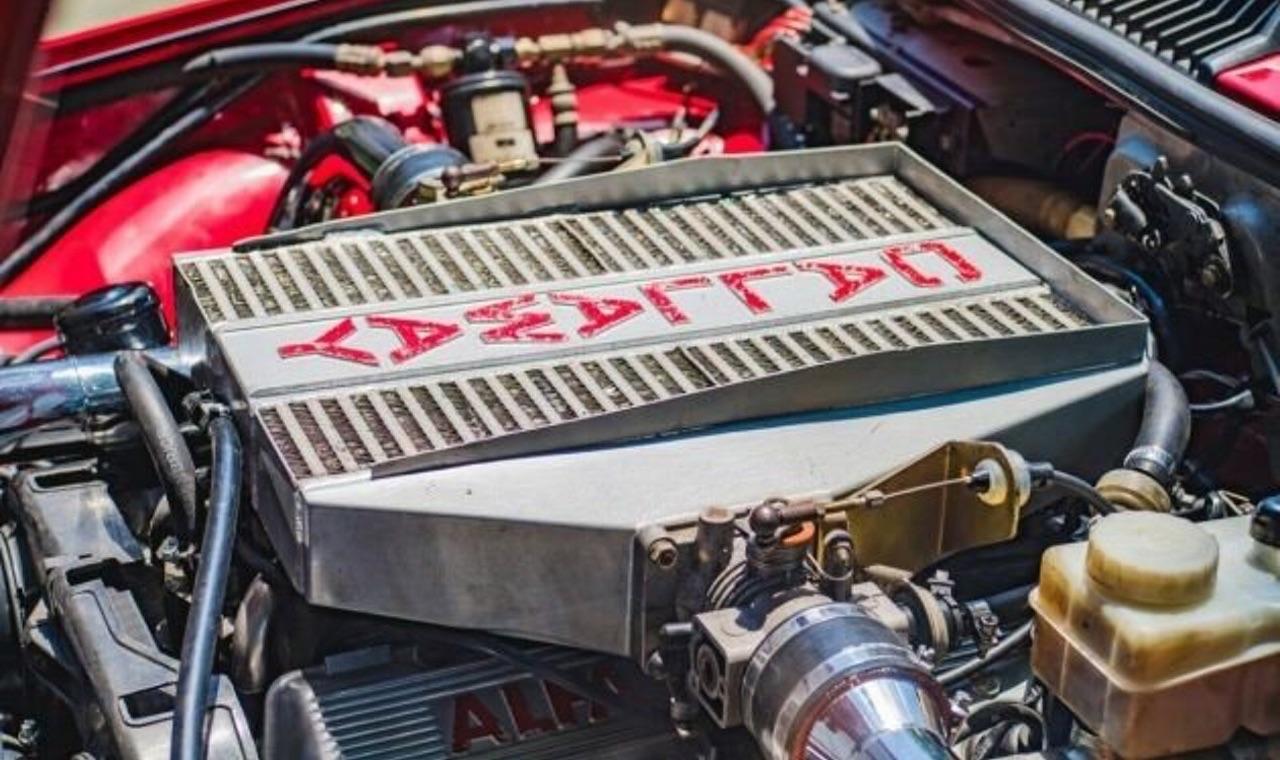 Alfa GTV6 Callaway... Busso Biturbo ! 6