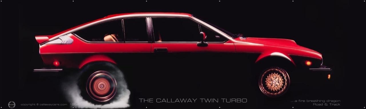 Alfa GTV6 Callaway... Busso Biturbo ! 1