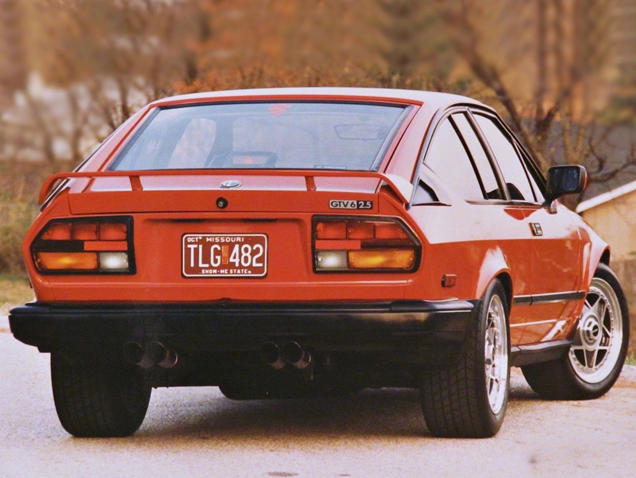 Alfa GTV6 Callaway... Busso Biturbo ! 4
