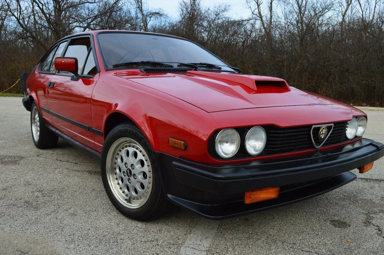 Alfa GTV6 Callaway... Busso Biturbo ! 2
