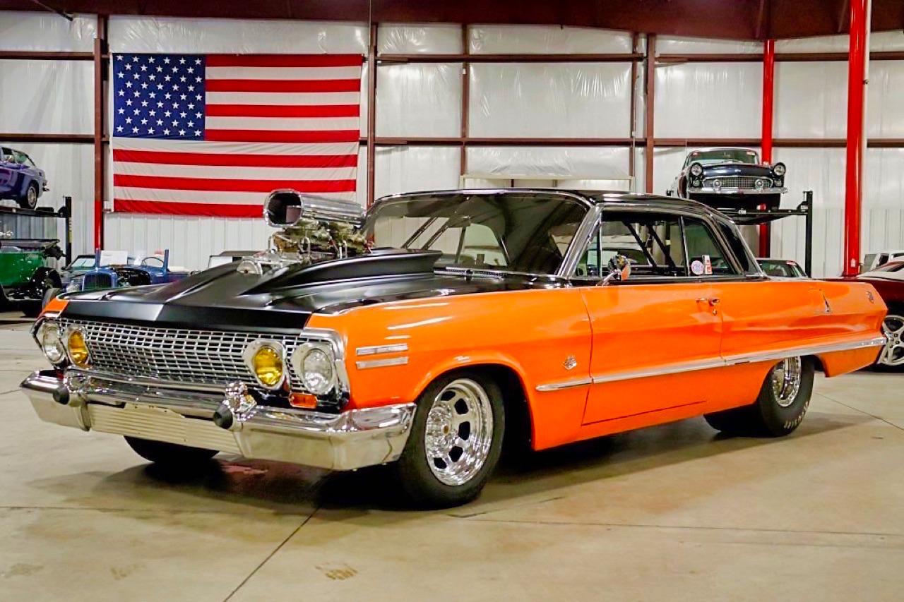 '63 Chevrolet Impala SS - Le monstre ! 1