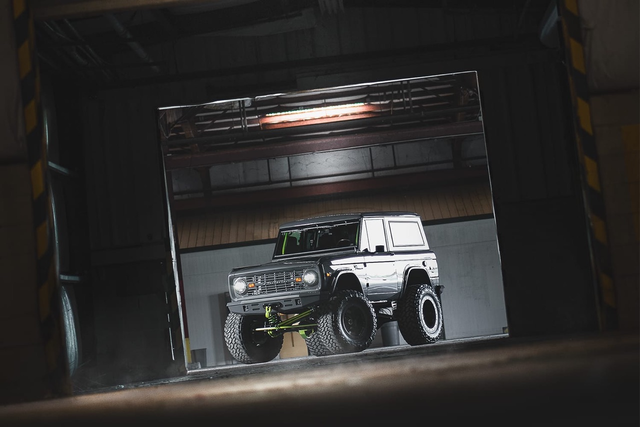 '75 Ford Bronco Supercharged - Rest'haut mod ! 10