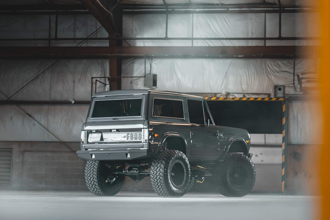 '75 Ford Bronco Supercharged - Rest'haut mod ! 5