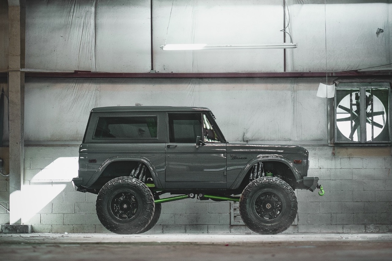 '75 Ford Bronco Supercharged - Rest'haut mod ! 3