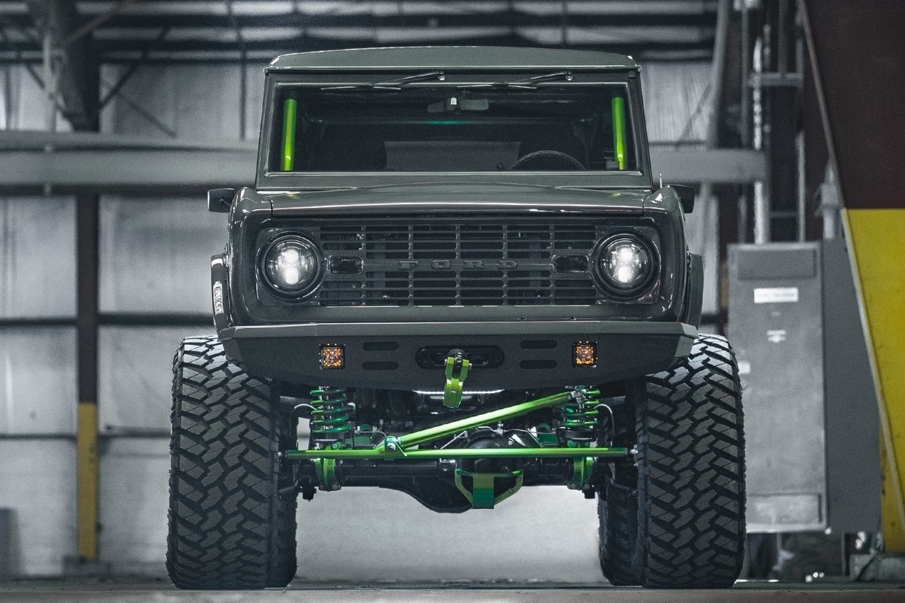 '75 Ford Bronco Supercharged - Rest'haut mod ! 1