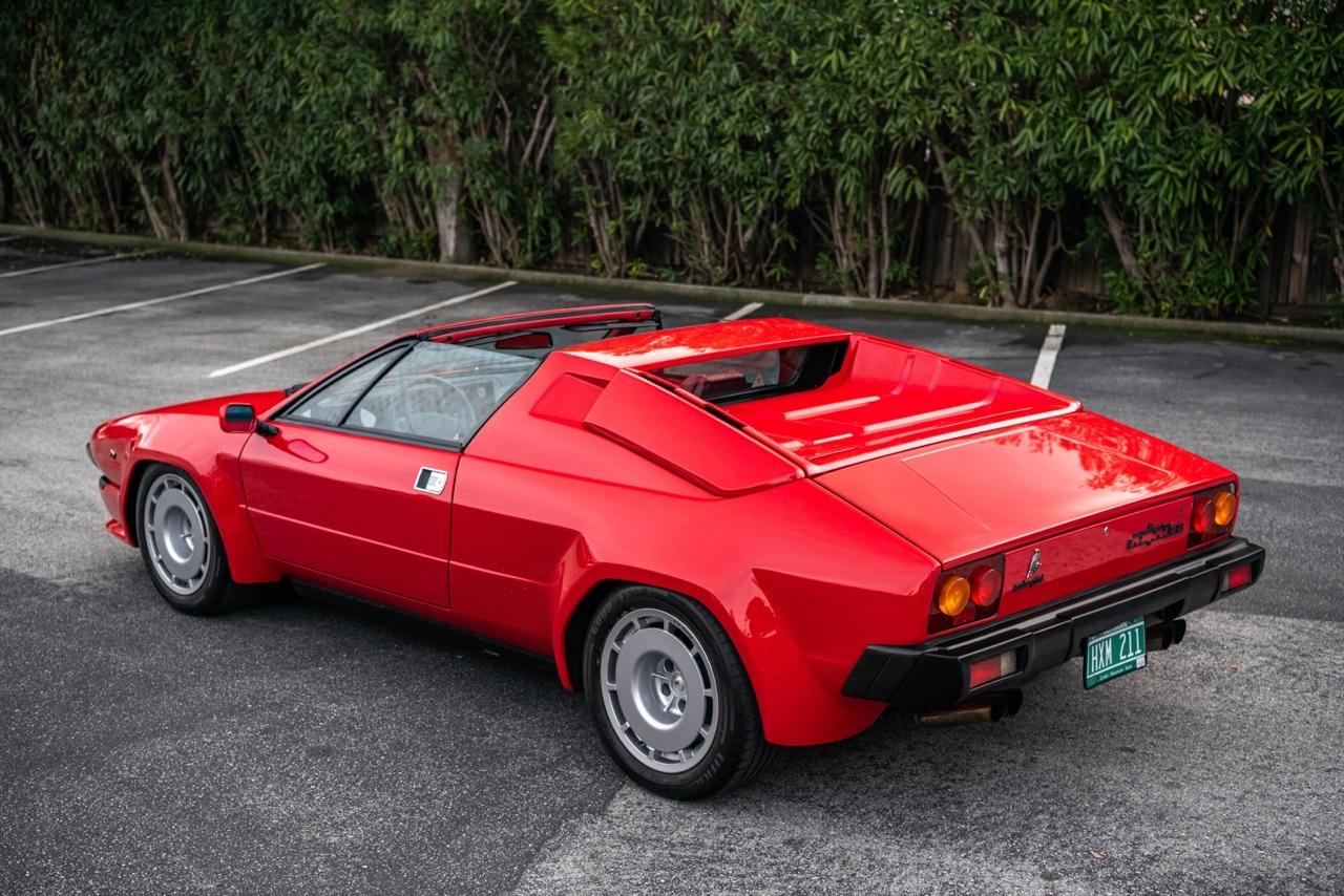 Lamborghini Jalpa - La malédiction du V8 ! 5