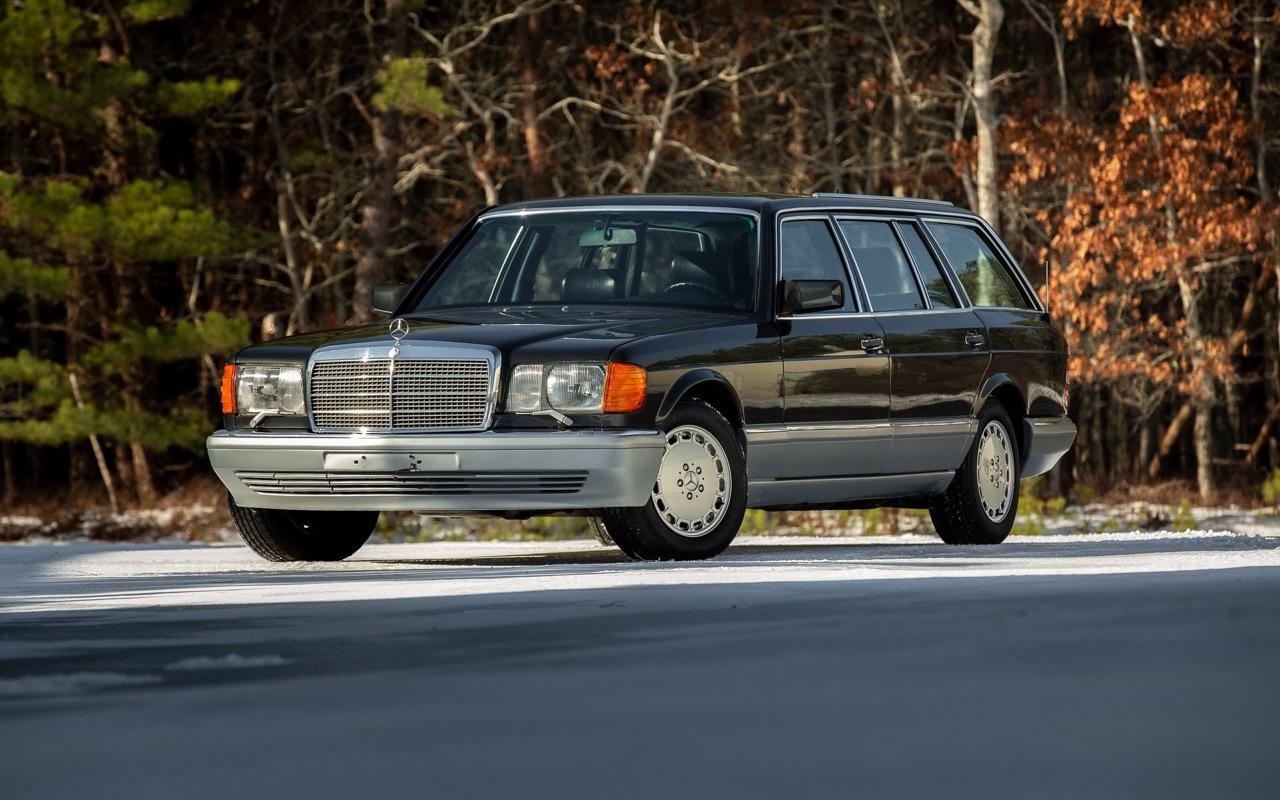 Mercedes 560 TEL et SEC Cab... L'utile et l'agréable ? 2
