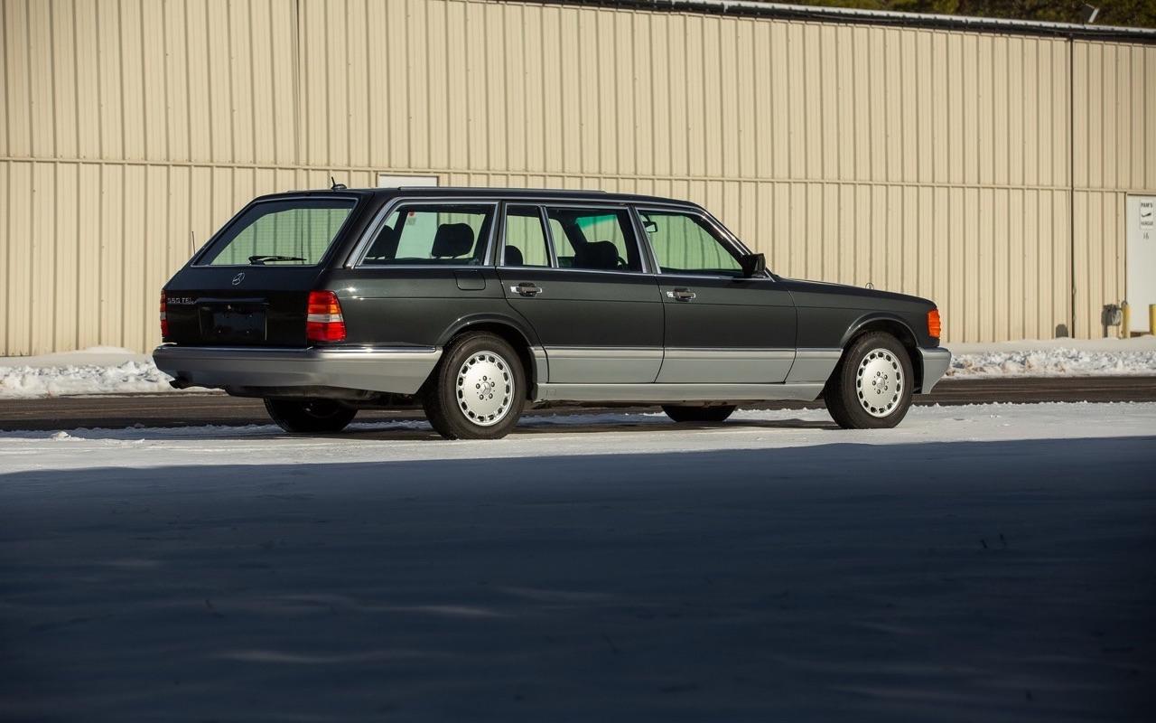 Mercedes 560 TEL et SEC Cab... L'utile et l'agréable ? 1