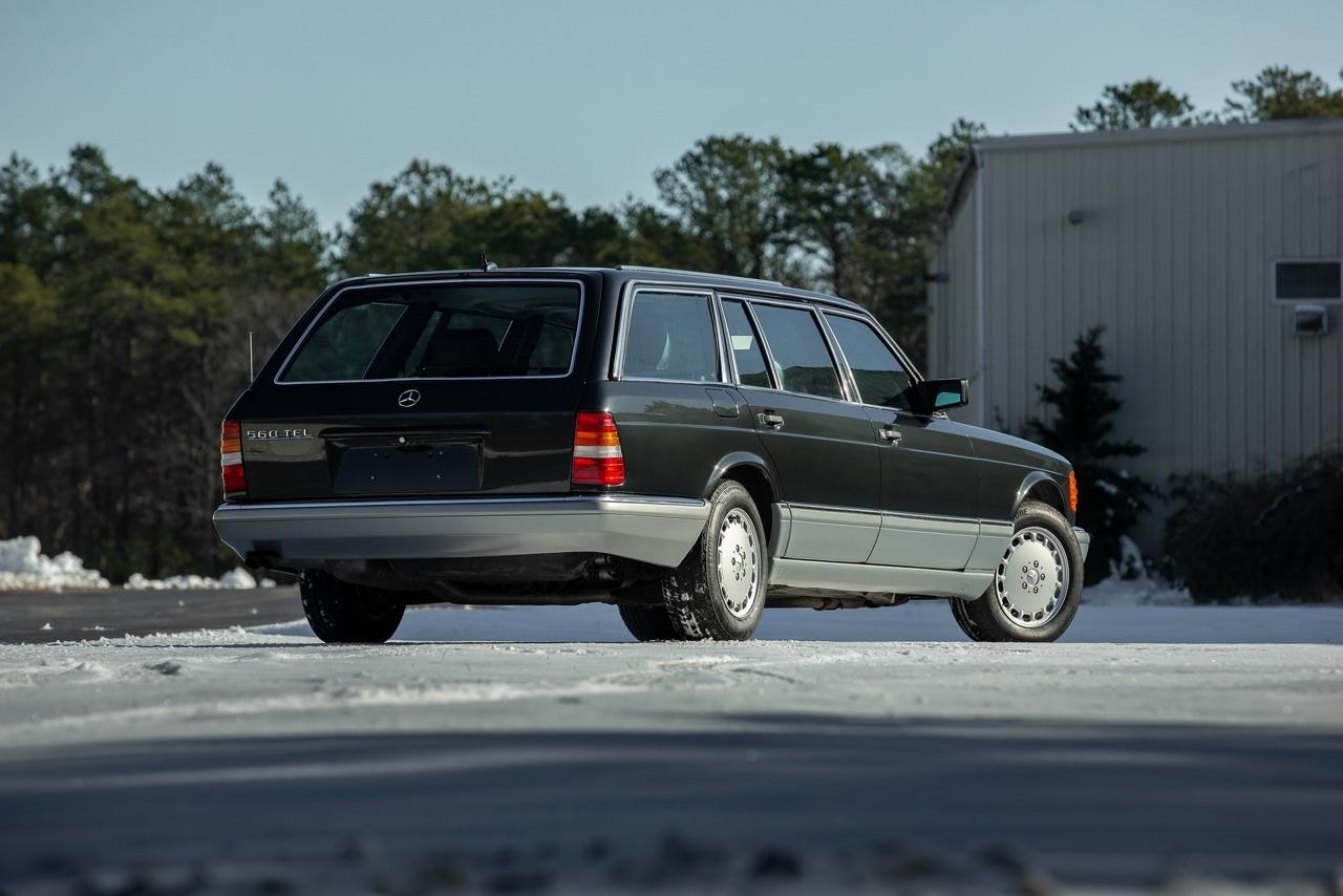 Mercedes 560 TEL et SEC Cab... L'utile et l'agréable ? 3