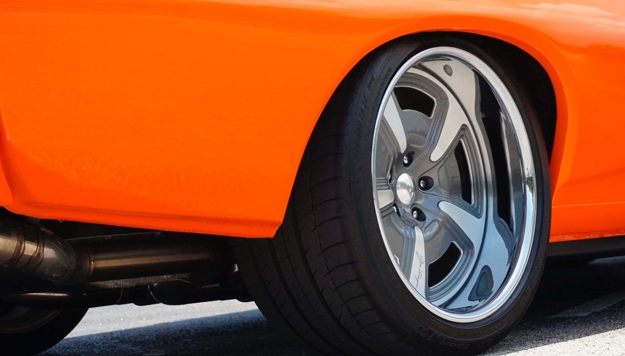 """'69 Pontiac LeMans GTO « The Judge » : Levez la main et dites """"J'le jure"""" ! 3"""