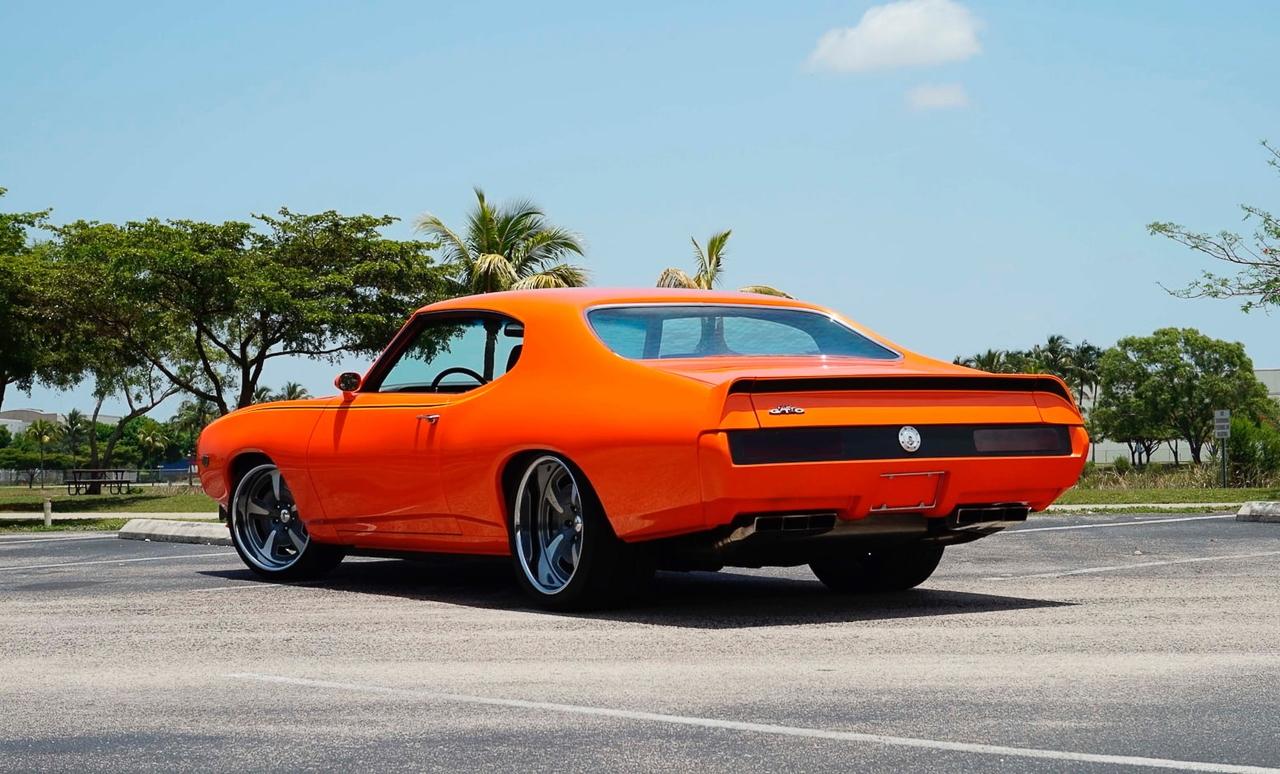 """'69 Pontiac LeMans GTO « The Judge » : Levez la main et dites """"J'le jure"""" ! 9"""