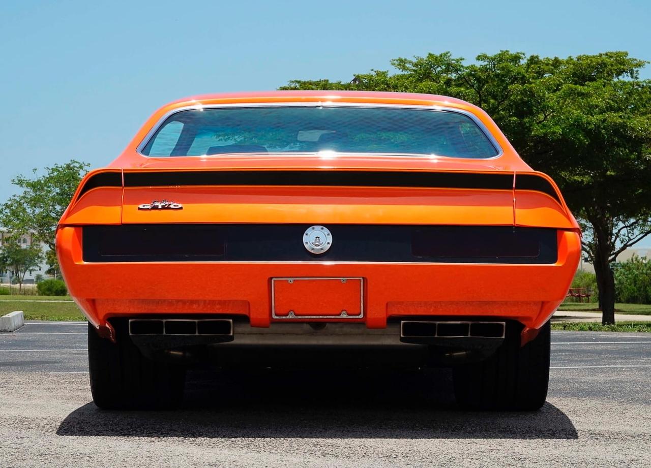"""'69 Pontiac LeMans GTO « The Judge » : Levez la main et dites """"J'le jure"""" ! 11"""