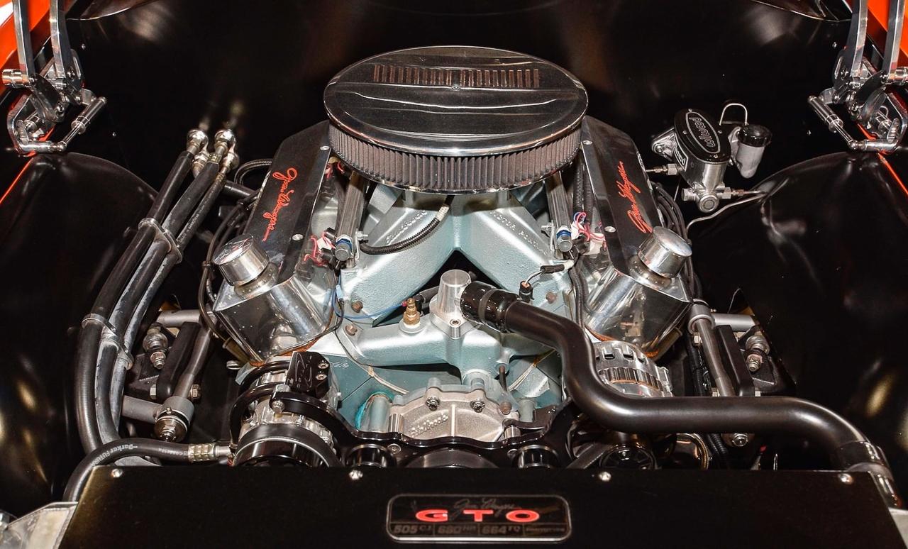 """'69 Pontiac LeMans GTO « The Judge » : Levez la main et dites """"J'le jure"""" ! 10"""