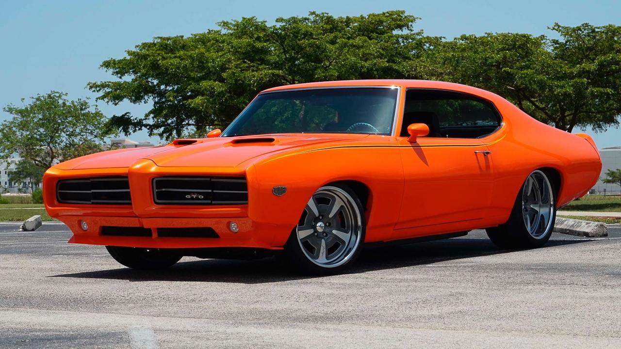 """'69 Pontiac LeMans GTO « The Judge » : Levez la main et dites """"J'le jure"""" ! 13"""