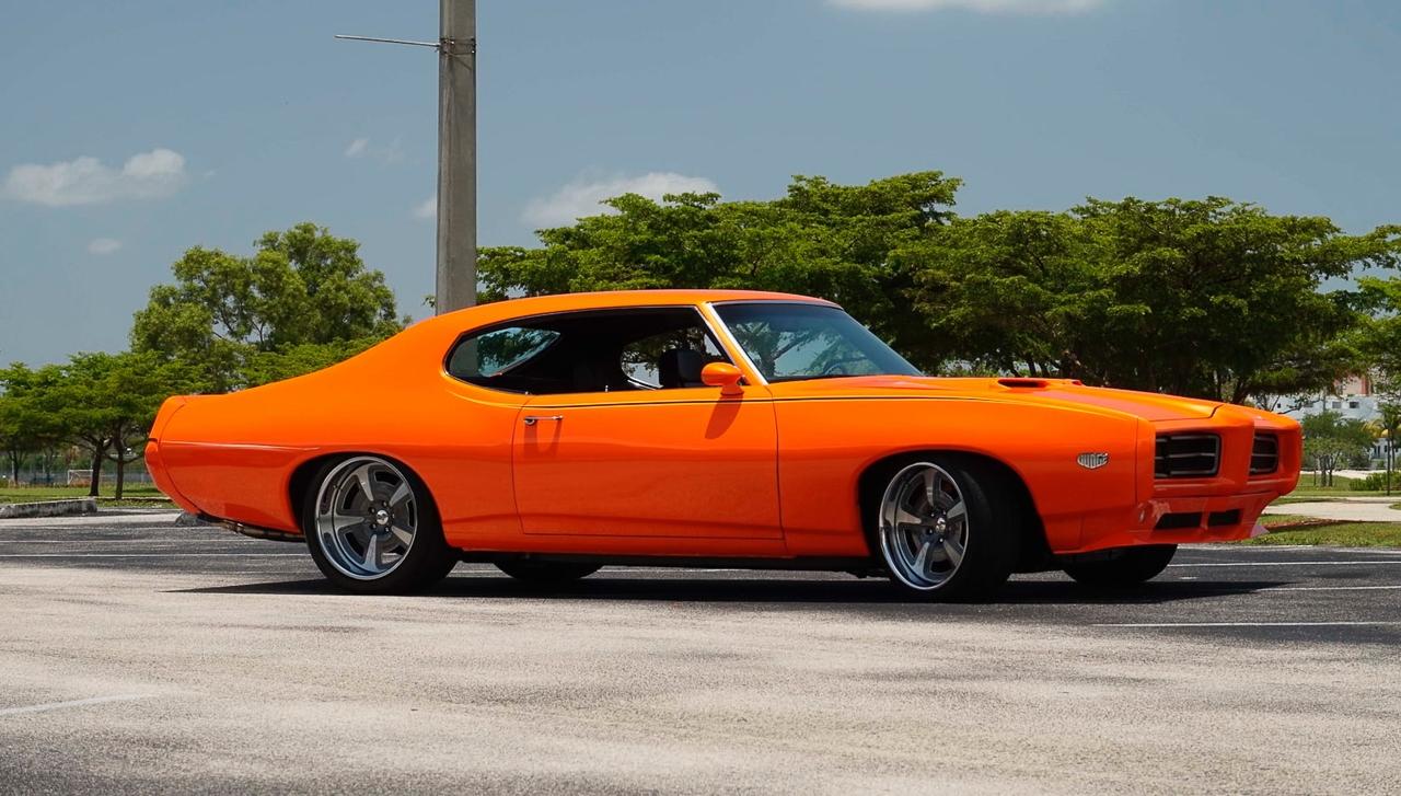 """'69 Pontiac LeMans GTO « The Judge » : Levez la main et dites """"J'le jure"""" ! 2"""