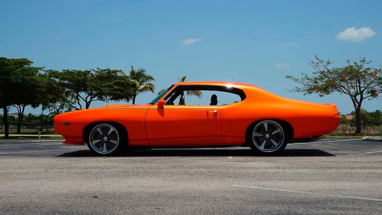 """'69 Pontiac LeMans GTO « The Judge » : Levez la main et dites """"J'le jure"""" ! 4"""
