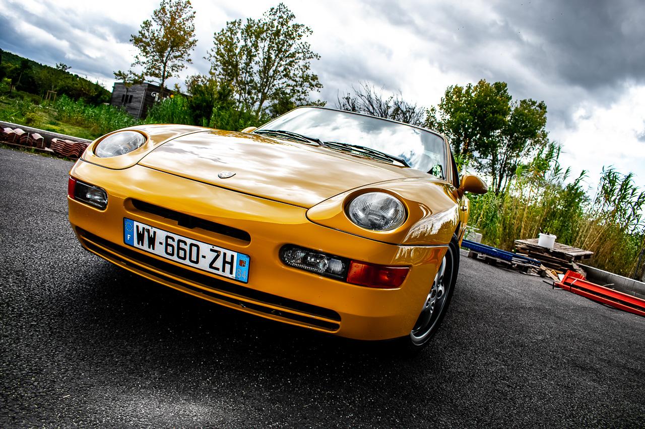 Porsche 968 CS - Par devant, c'est bien aussi… 1