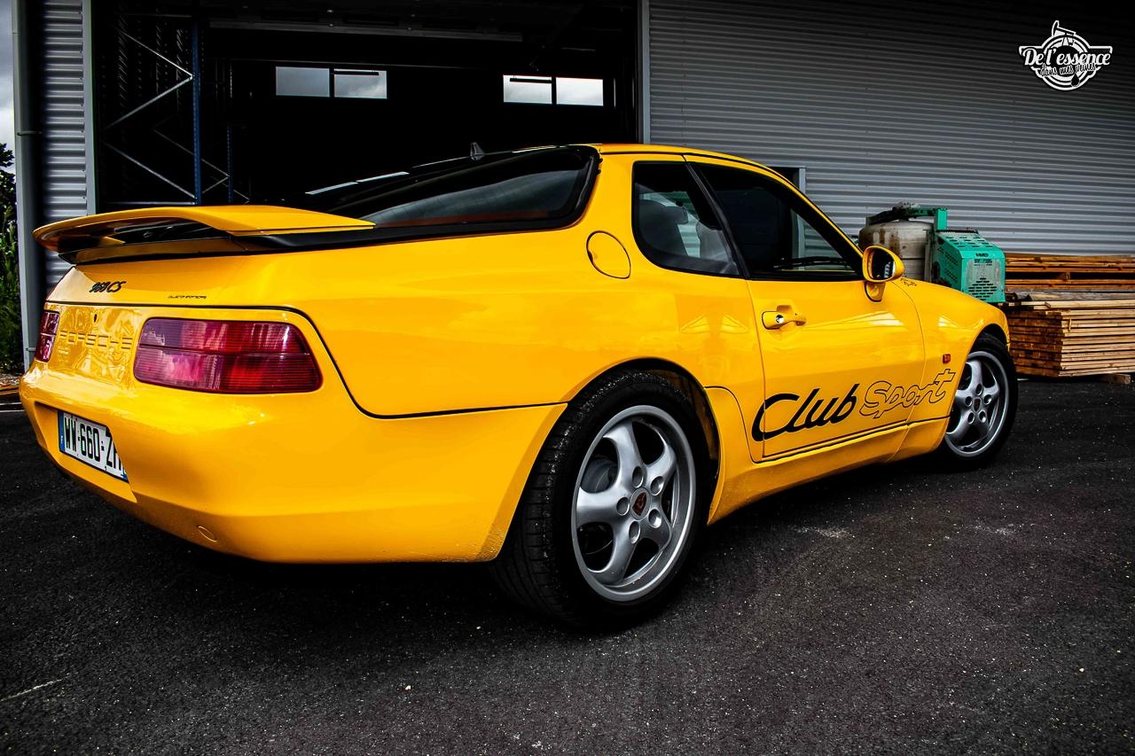 Porsche 968 CS - Par devant, c'est bien aussi… 12
