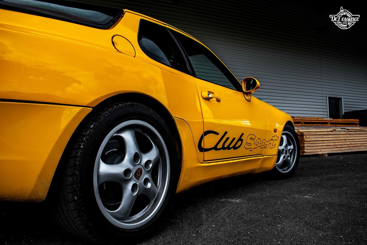 Porsche 968 CS - Par devant, c'est bien aussi… 7