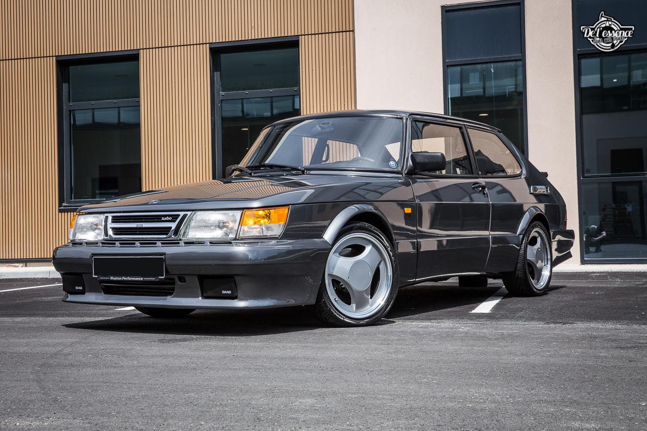 Saab 900 T16 RBM Performance : Chaude la suédoise ! 1