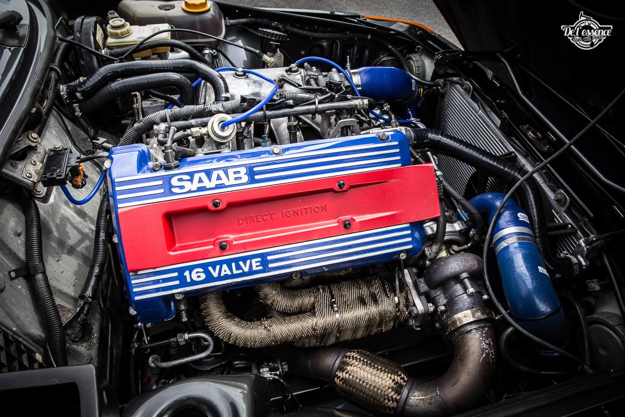 Saab 900 T16 RBM Performance : Chaude la suédoise ! 13