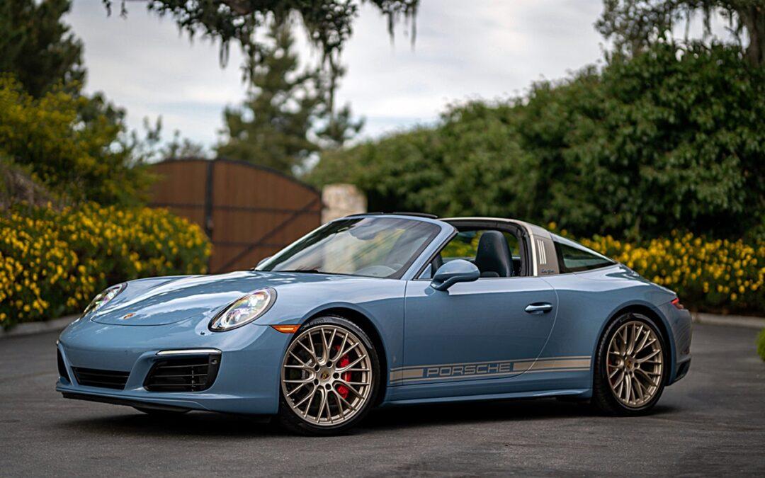 Porsche 991 Targa 4s Exclusive Design Edition : Seulement 100…