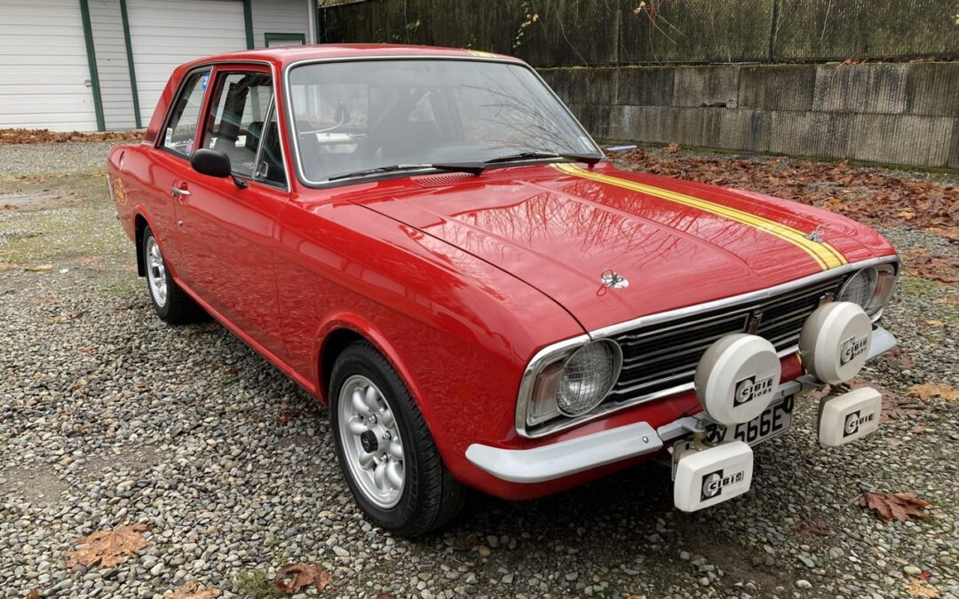 Ford Cortina Mk2 SVT – Kitsch me if you can !