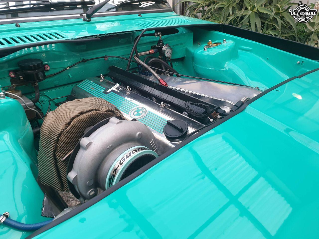 La BMW E21 325i Turbo de Corrie - Requin (très) pressé ! 24