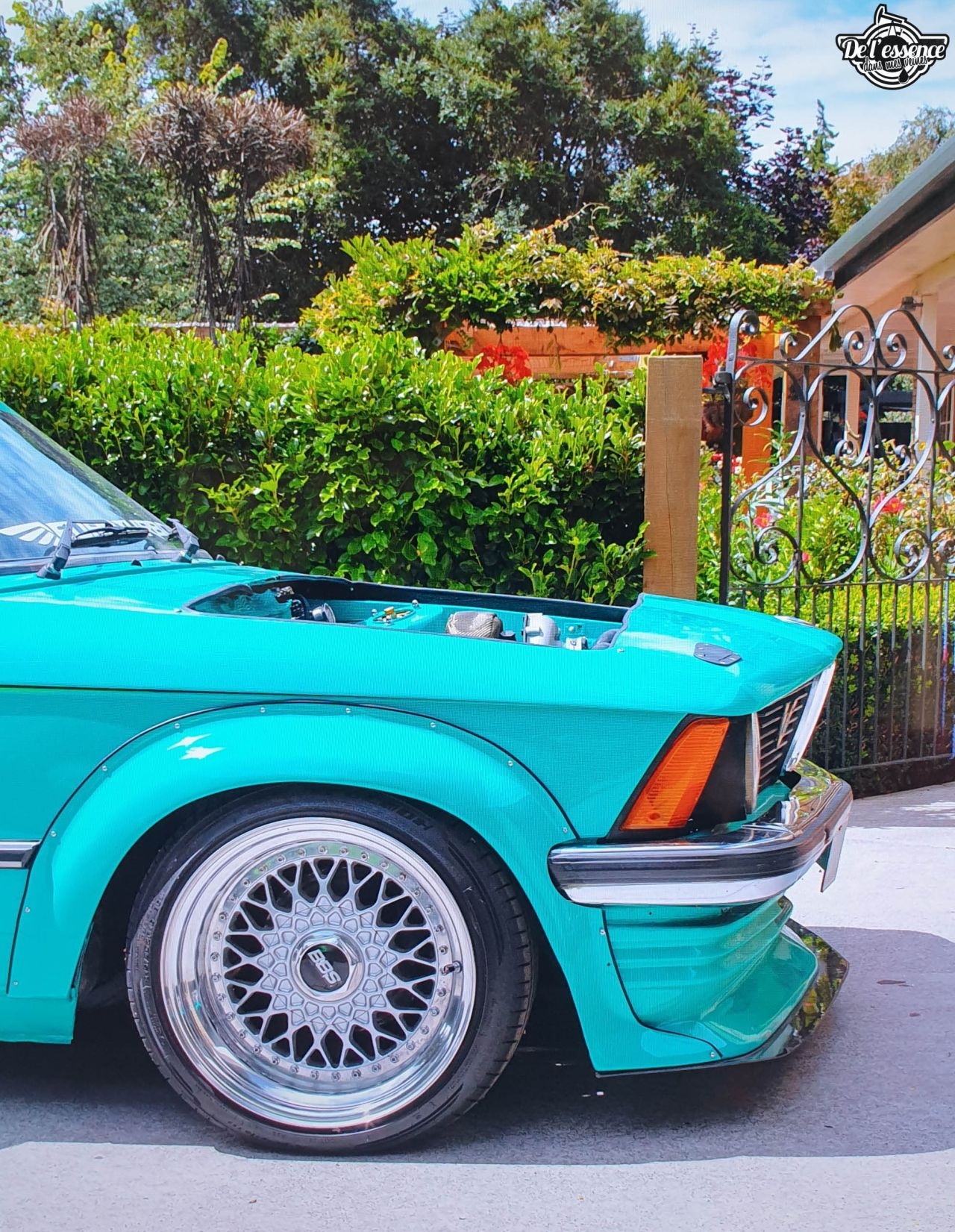 La BMW E21 325i Turbo de Corrie - Requin (très) pressé ! 23