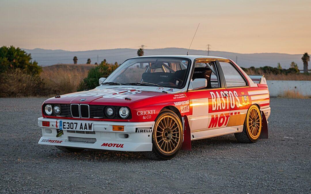 BMW M3 E30 Rallycar – Bastonneuse de chronos