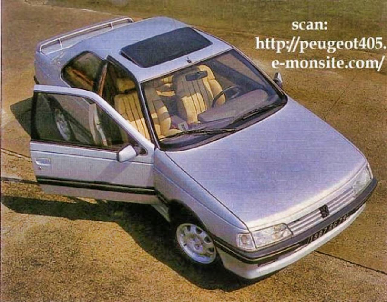 Peugeot 405 Coupé Heuliez - Acte manqué ! 2