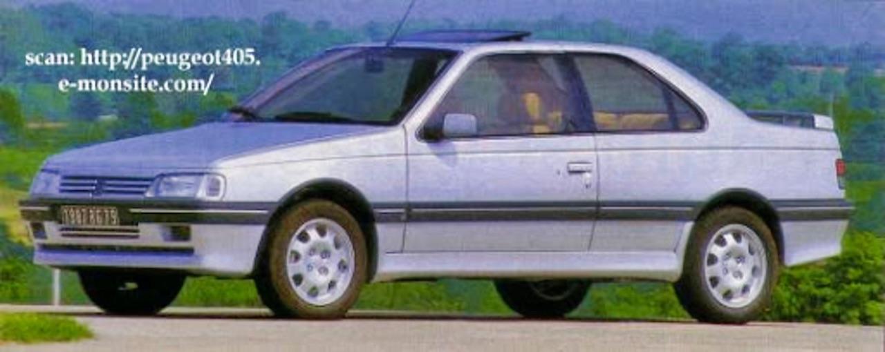 Peugeot 405 Coupé Heuliez - Acte manqué ! 1