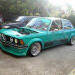 La BMW E21 325i Turbo de Corrie - Requin (très) pressé !