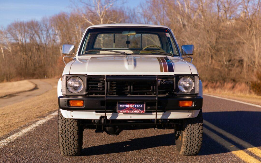 Toyota Hilux '81 – Assez fiable pour la fin du monde