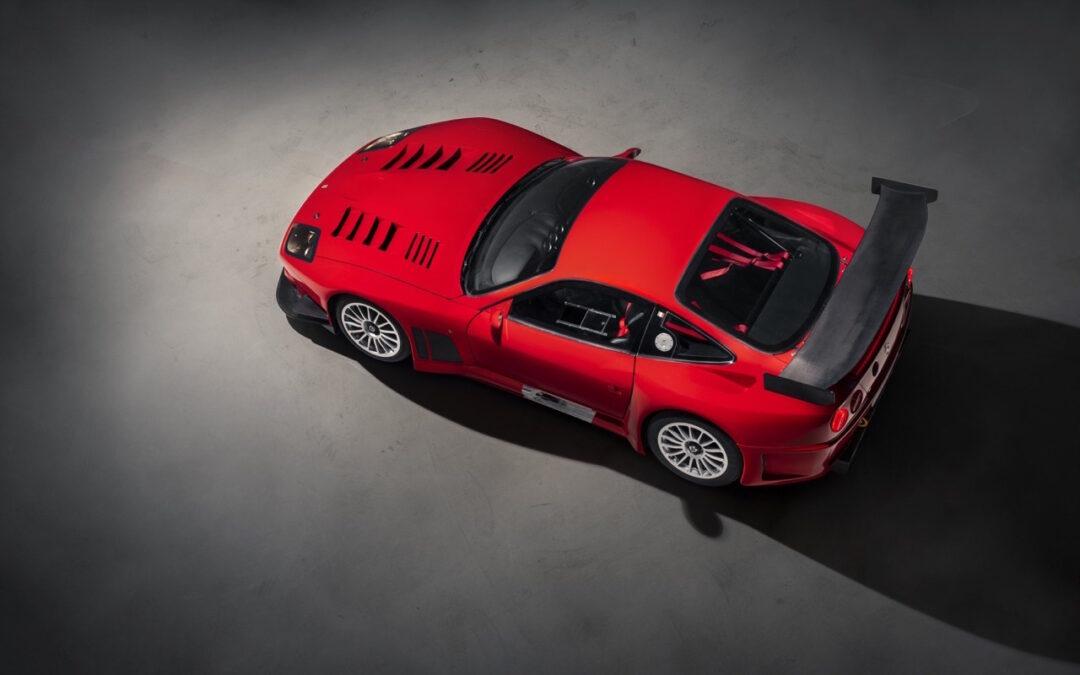 Ferrari 575 GTC Stradale… Oui, ça veut dire street legal !