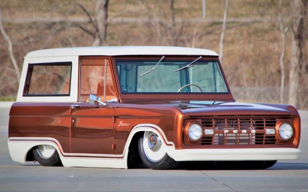 '69 Ford Bronco posé… mais bien posé hein !