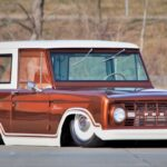 '69 Ford Bronco posé... mais bien posé hein !