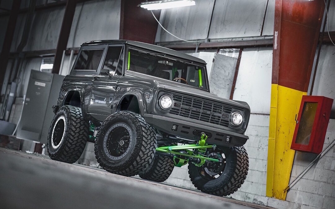 '75 Ford Bronco Supercharged – Rest'haut mod !