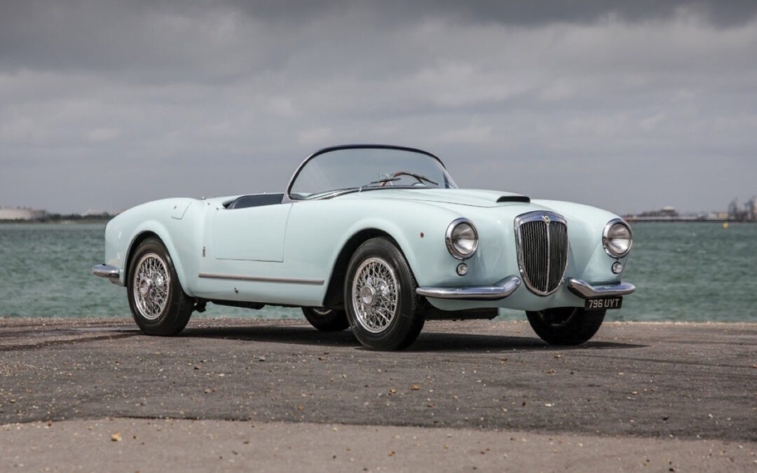 '55 Lancia Aurelia Spider B24… Perfetto !