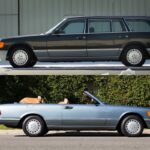 Mercedes 560 TEL et SEC Cab... L'utile et l'agréable ?