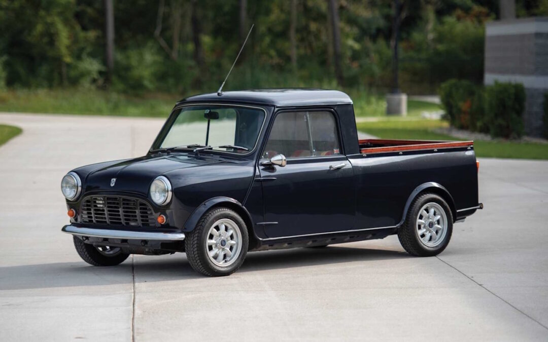 '72 Mini Pick-up… Mini utilitaire !