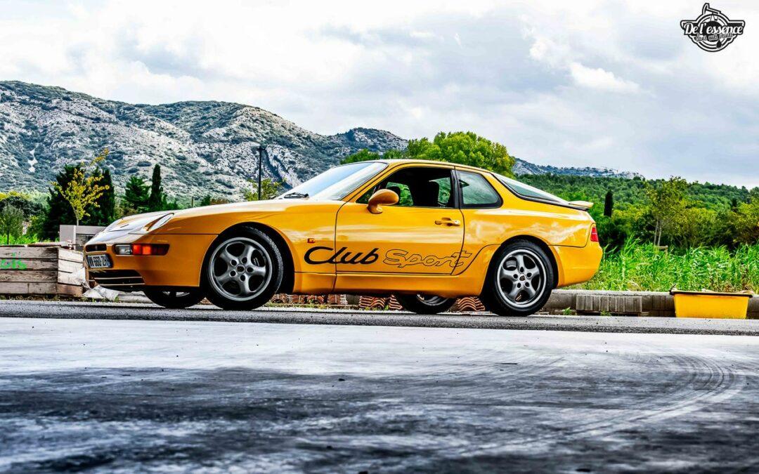 Porsche 968 CS – Par devant, c'est bien aussi…
