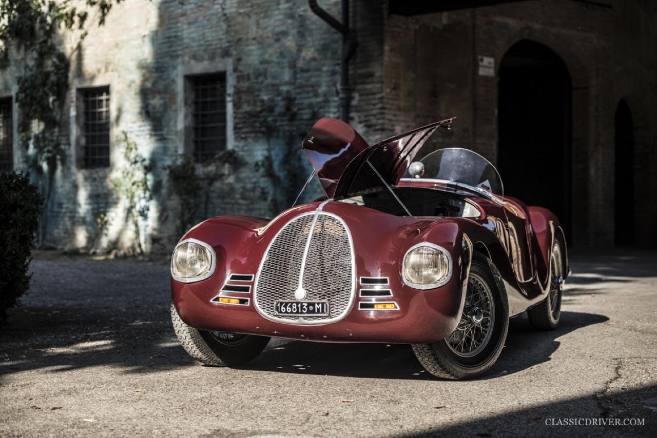 Auto Avio Costruzioni 815 - La Ferrari qui n'en était pas une mais qui valait 100 millions ! 10