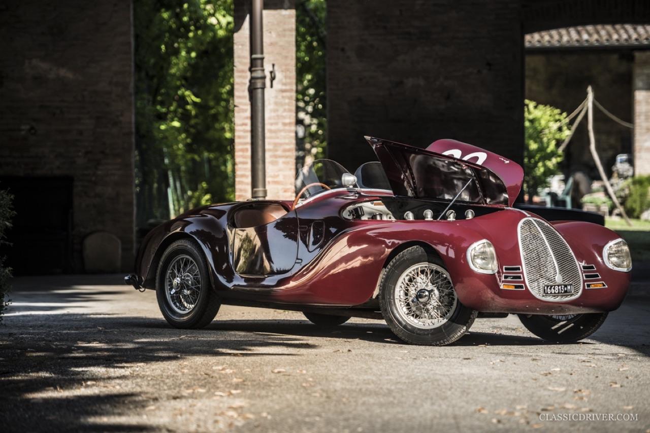 Auto Avio Costruzioni 815 - La Ferrari qui n'en était pas une mais qui valait 100 millions ! 8