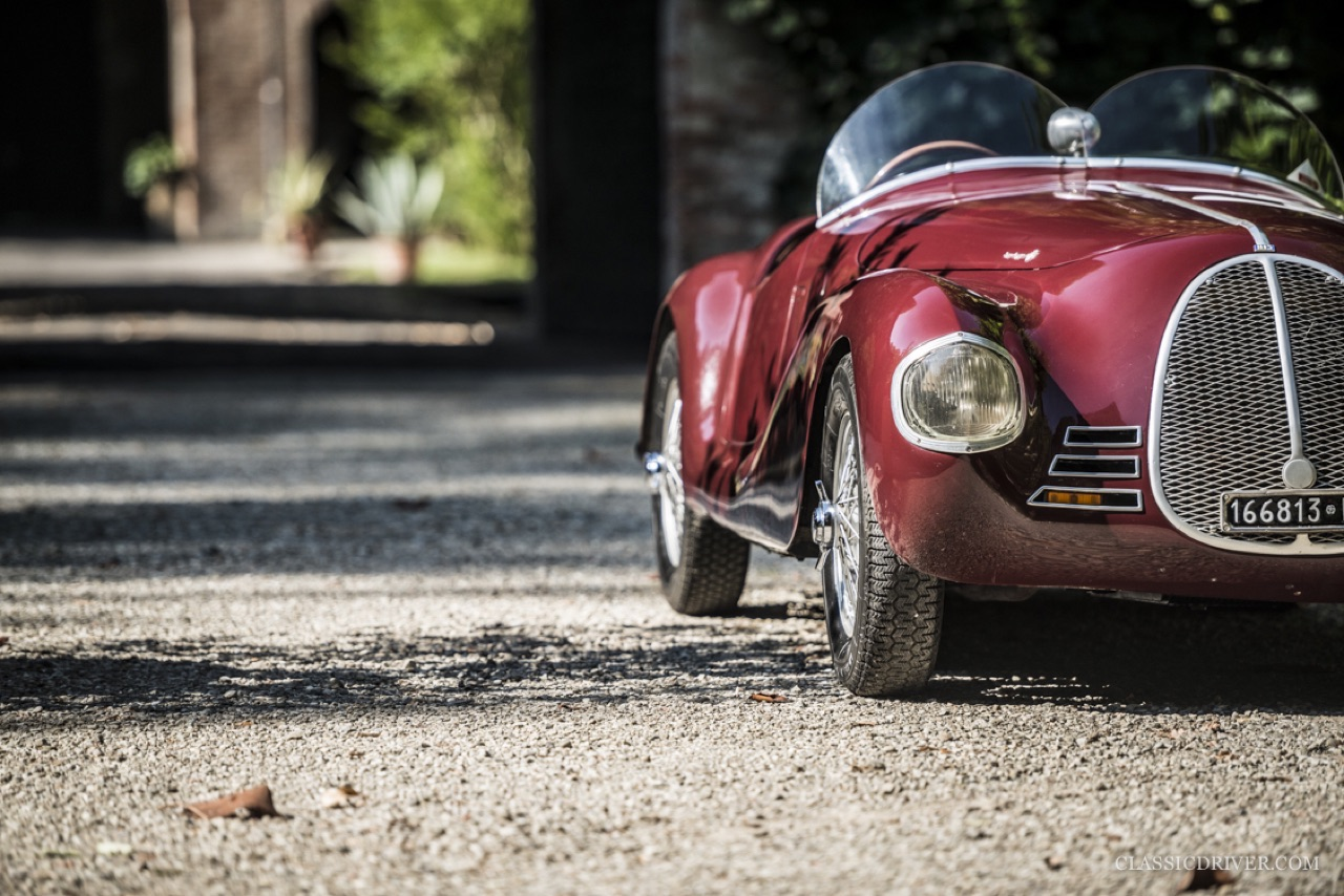 Auto Avio Costruzioni 815 - La Ferrari qui n'en était pas une mais qui valait 100 millions ! 2