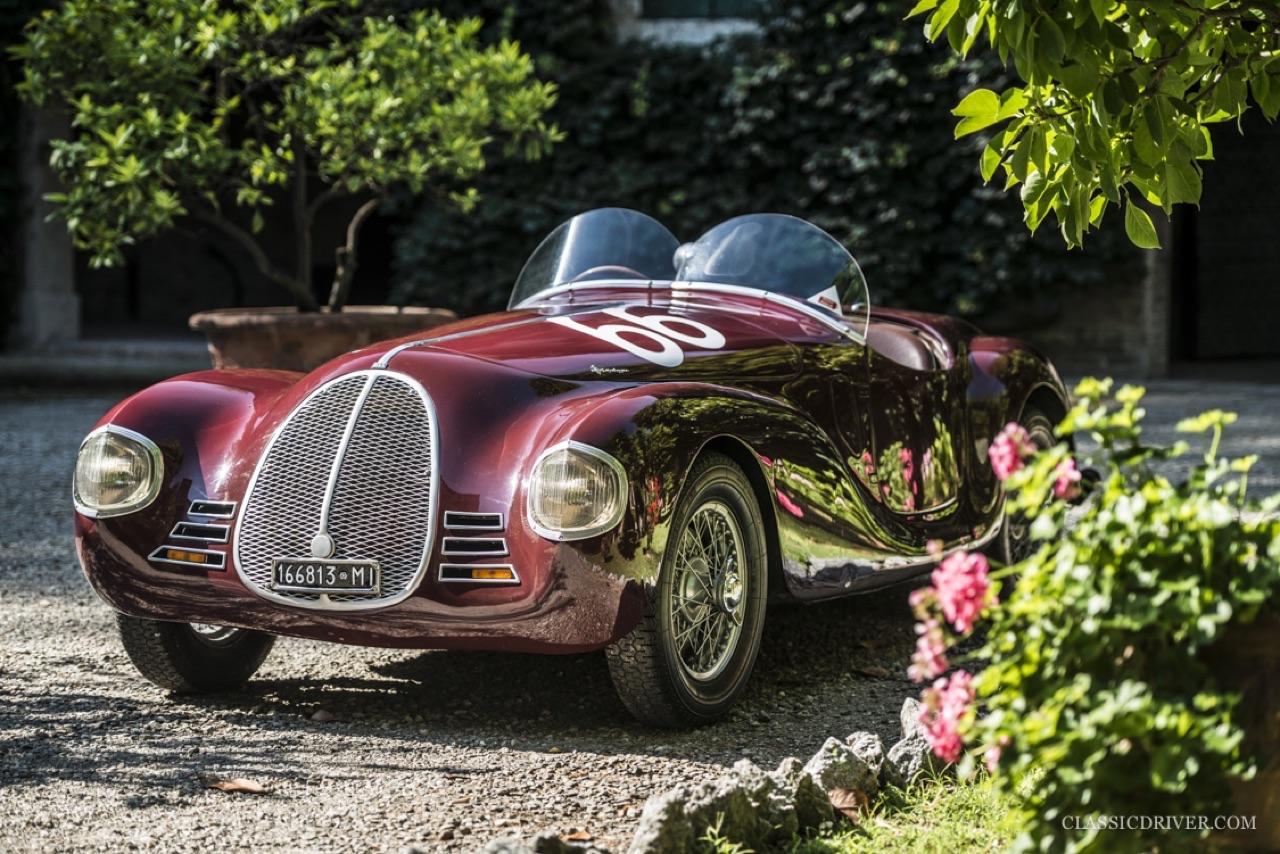 Auto Avio Costruzioni 815 - La Ferrari qui n'en était pas une mais qui valait 100 millions ! 5