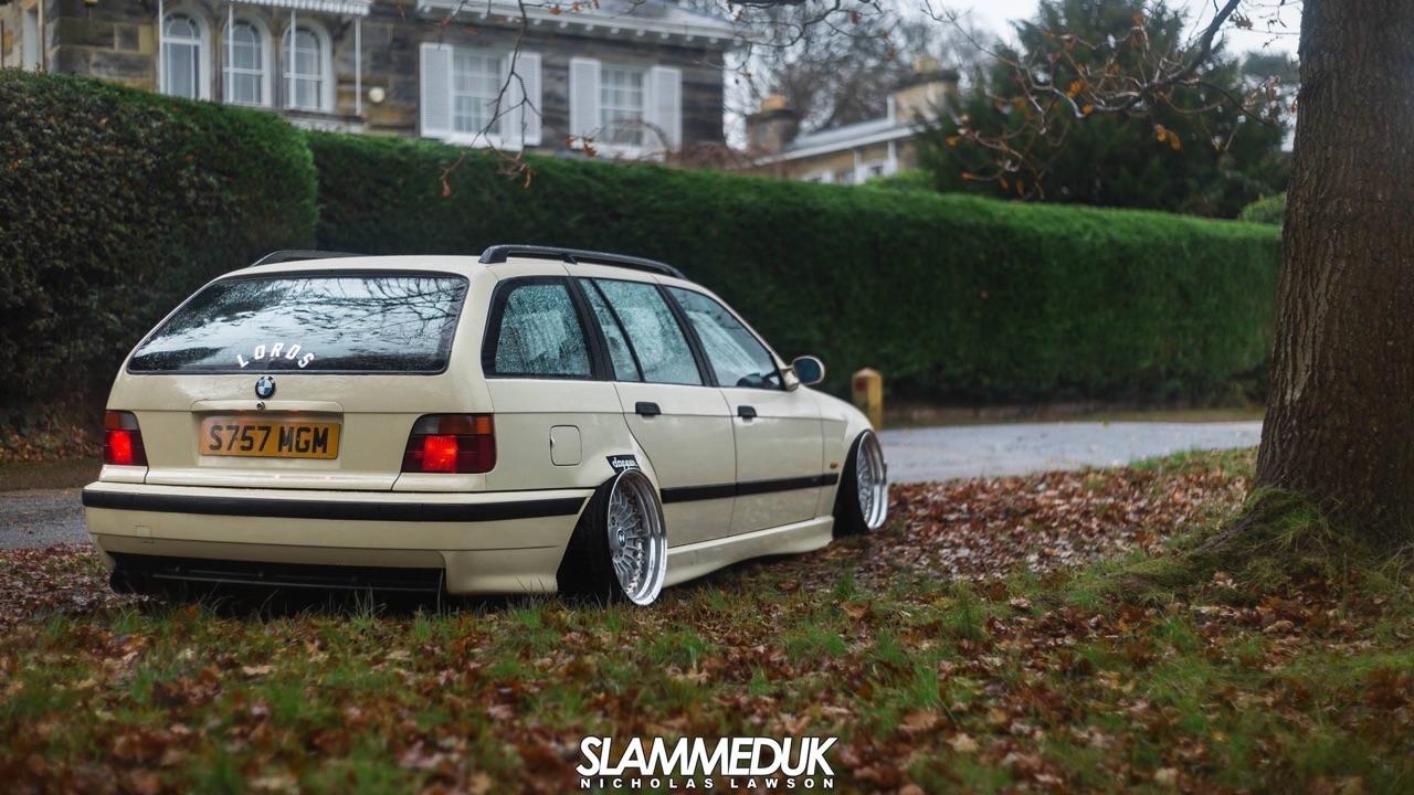 BMW E36 Touring - De l'air et du swap ! 2