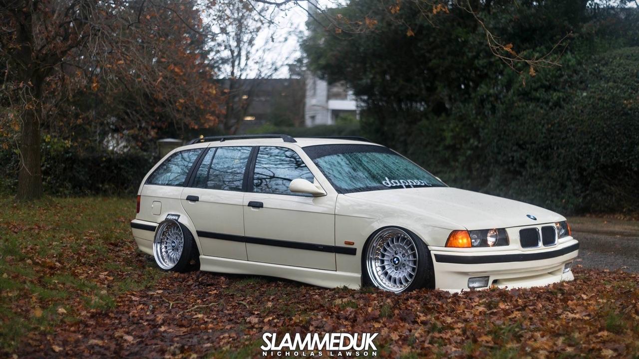 BMW E36 Touring - De l'air et du swap ! 8