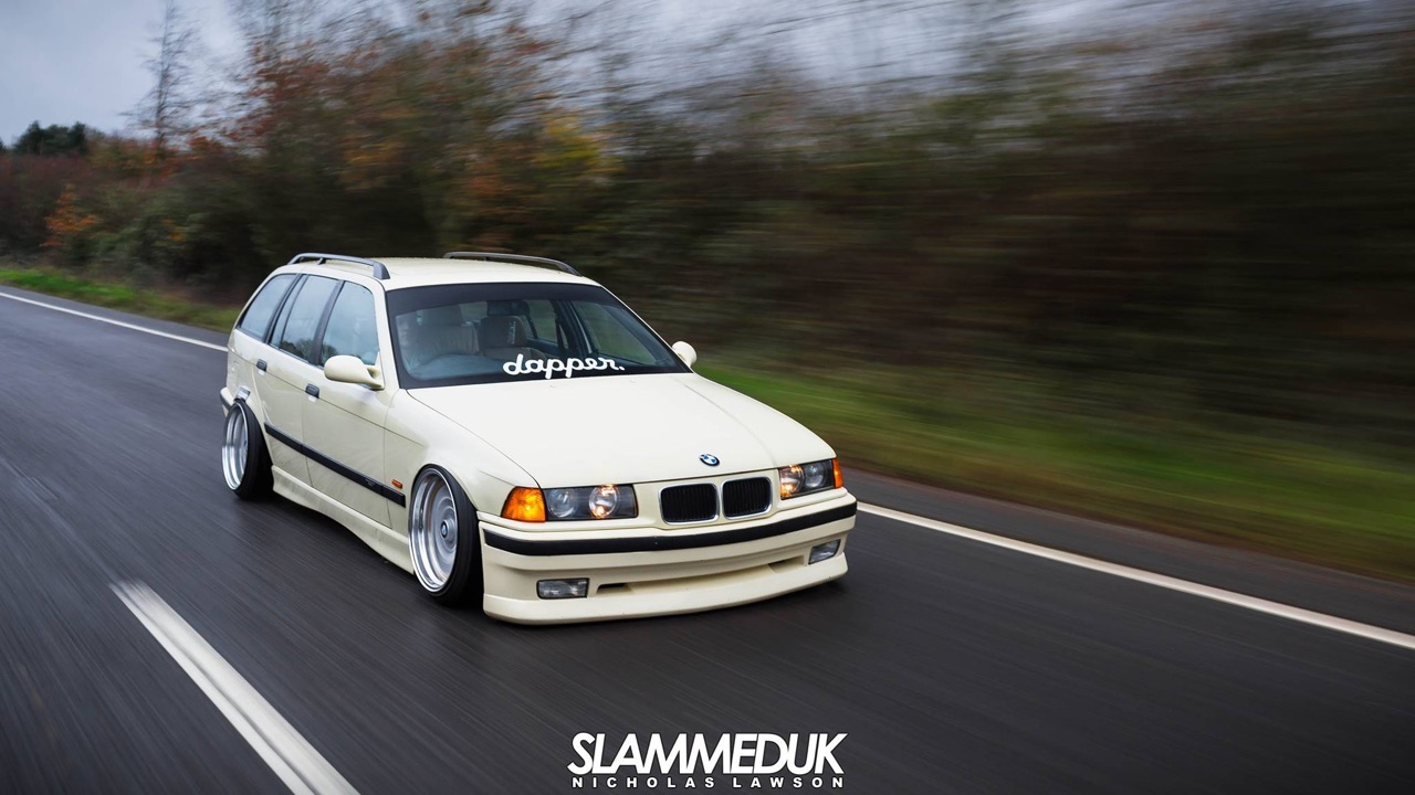 BMW E36 Touring - De l'air et du swap ! 4