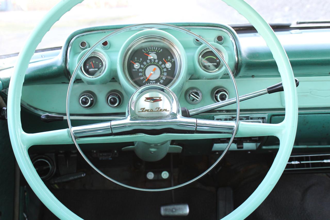 Chevrolet 210 2 Doors Sedan de 1957 en LS1 – Tout ça pour une ceinture… 6